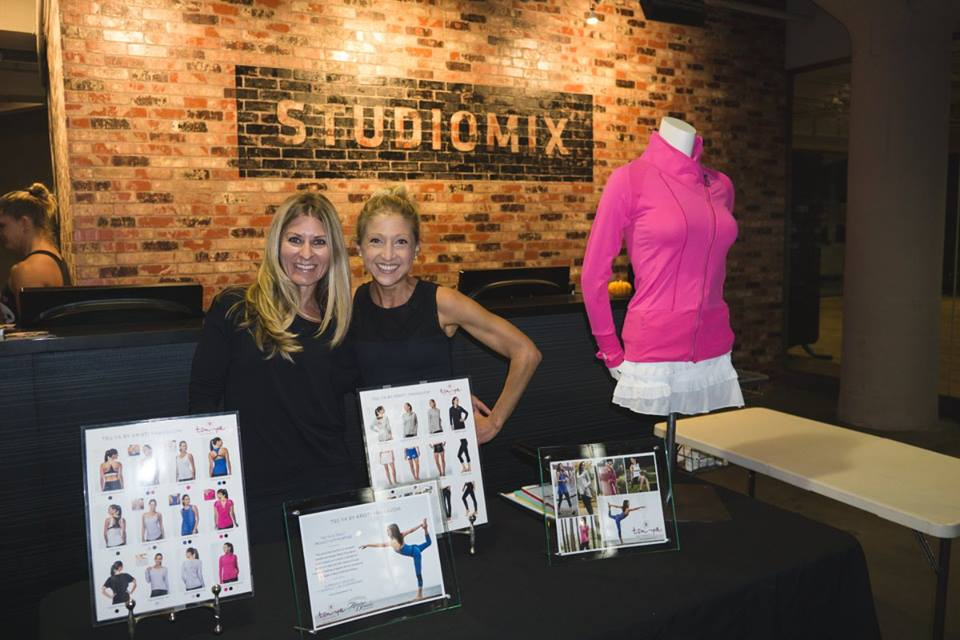 Hosting a Tsuya trunk show at my most recent wellness event: Healthy Hour at Studiomix in San Francisco