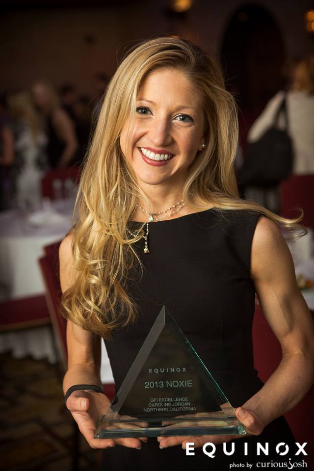 Caroline Jordan EQUINOX Instructor of Excellence Award