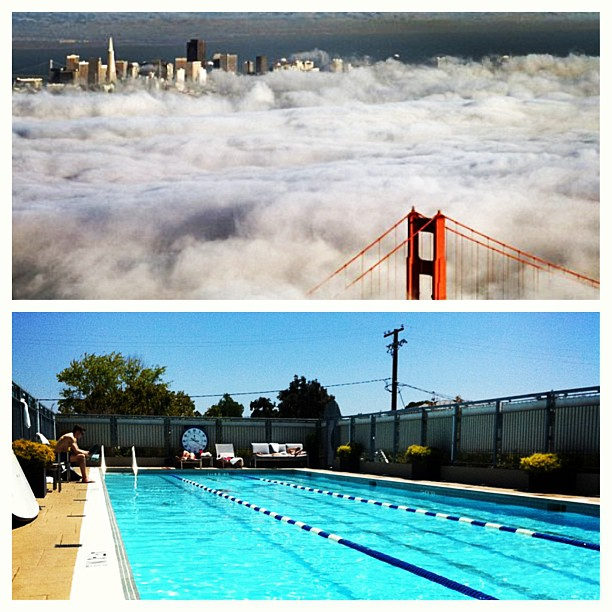 San Francisco Summer VS. Palo Alto Summer.