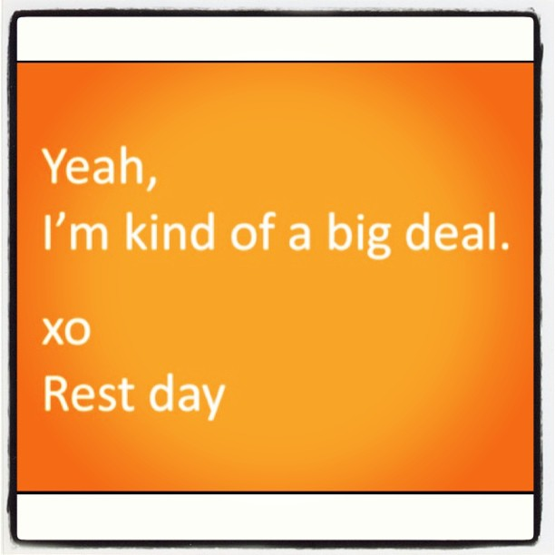 how important is rest day