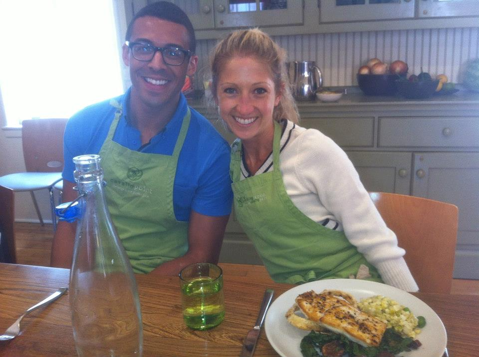 Ready for a rejuvenating mid-day meal at Cavalllo Point corporate wellness team building offsite in Sausalito, CA