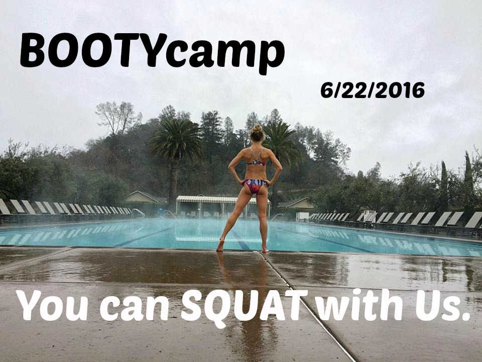 BOOTYcamp June 22nd 6:15-7:15pm