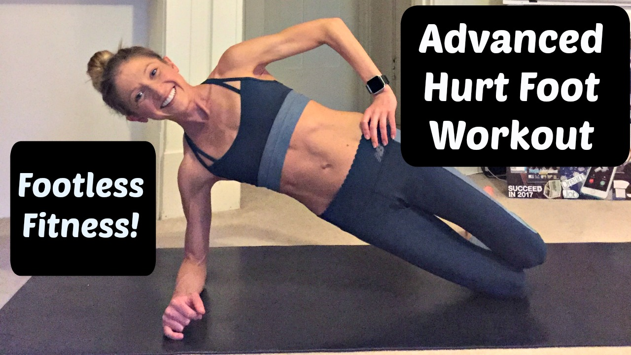 Advanced Hurt Foot or Ankle Injury Workout
